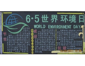 <font color='#900000'>五年级低碳生活黑板报</font>
